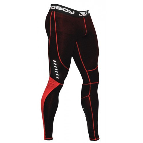 Компрессионные штаны Bad Boy Leggings Black/Red 2XL