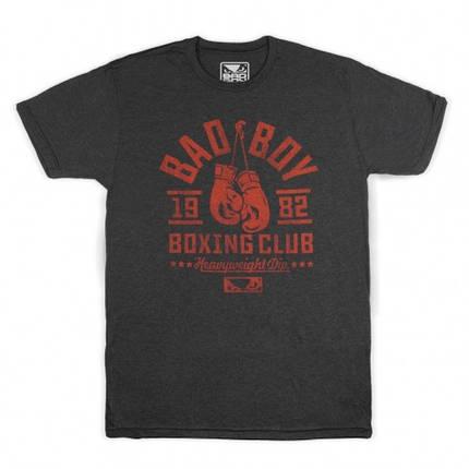 Футболка Bad Boy Boxing Club Black/Red M, фото 2