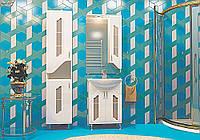 """Комплект мебели для ванной """"Октава"""" Аквамарин"""