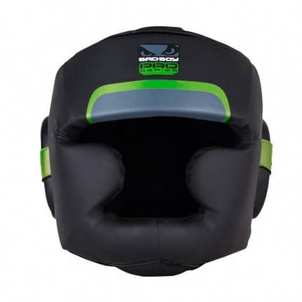 Боксерский шлем Bad Boy Pro Series 3.0 Full Green L, фото 2