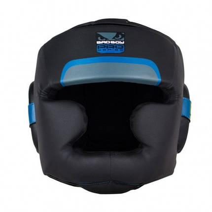 Боксерский шлем Bad Boy Pro Series 3.0 Full Blue XL, фото 2