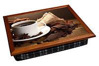 Поднос с подушкой Кофе с шоколадом