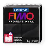 Пластика Professional, Черная, 85г, Fimo