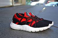 Кроссовки Nike Хуараче , черно-красные, магазин обуви 38 (24.5 см)