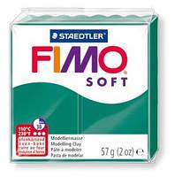 Пластика Soft, Изумрудная Зеленая, 57г, Fimo