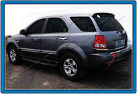 KIA SORENTO SUV (2002-2009) Нижняя кромка крышки багажника (нерж.) Omsa