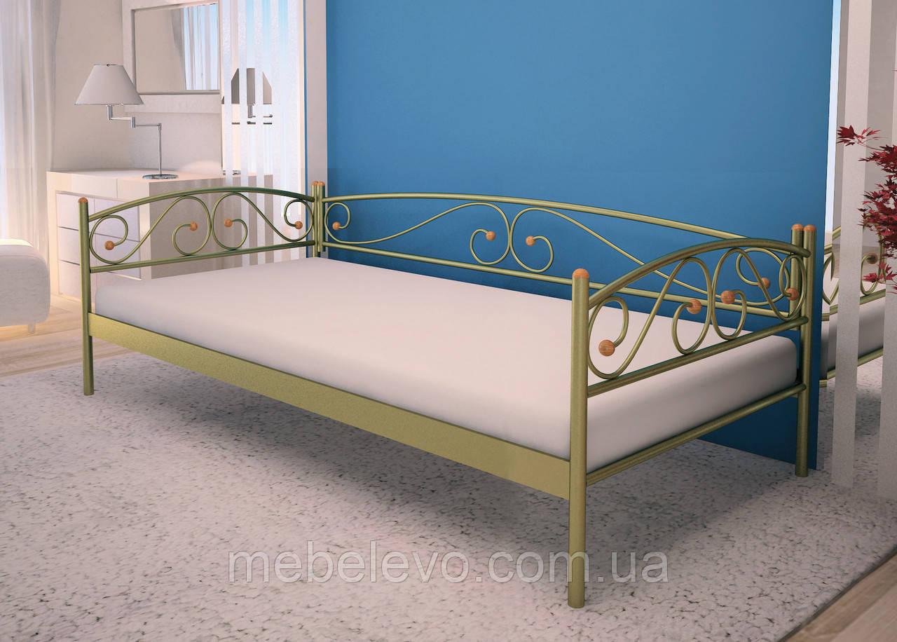 Кровать Верона Люкс  полуторная 120  Метакам
