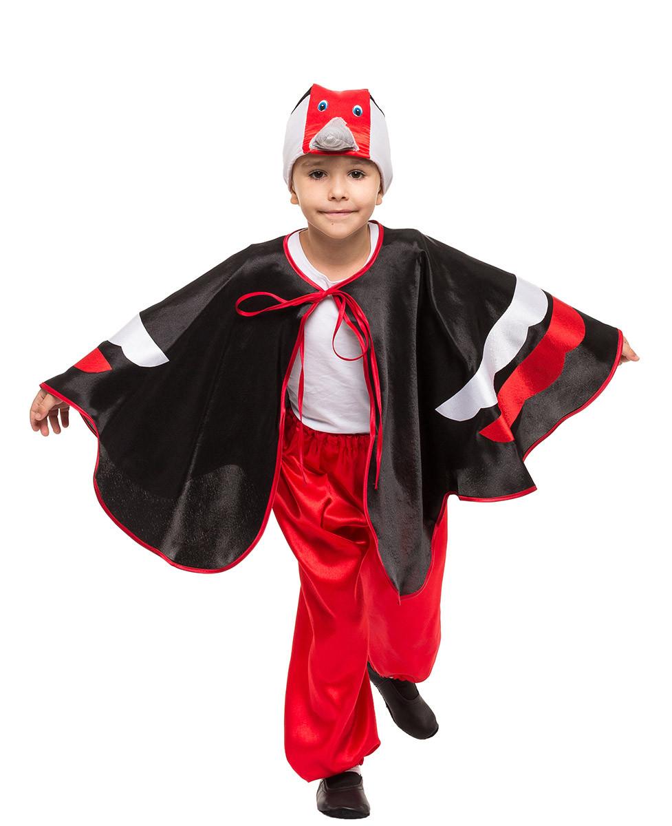 Костюм Дятла для мальчика Рост 118-124 см
