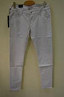 Белые женские  брюки 706А-5