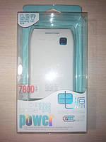 Внешний аккумулятор Power Bank 7800 мАч Original