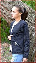 Куртка женская *Стёганка* ЦВЕТ ЧЕРНЫЙ, фото 2