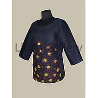 АКЦІЯ!!! Блуза Мачки темно-синя