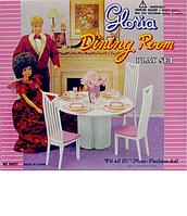 """Мебель для столовой """"Gloria"""" для кукол 94011"""