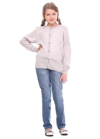 Кофта детская для девочки на пуговицах