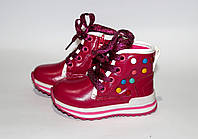 Демисезонные ботинки для девочек - 22 размер, фото 1
