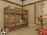 Кровать Соня двухъярусная 90 (Мебигранд/Mebigrand) 960х1980(2080)х1700мм , фото 1