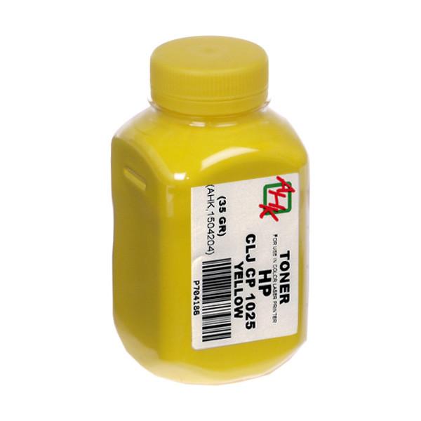 Тонер АНК для HP CLJ CP1025 бутль 35г Yellow (1504204)