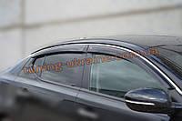 Дефлекторы окон (ветровики) COBRA-Tuning на KIA OPTIMA 3 2010+/K5 2010+
