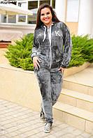 Женский спортивный костюм «СK» из велюра