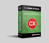 C++Builder 10.1 Berlin Professional Upgrade for registered owners of RAD Studio, C++Builder XE6 or later (Pro/Ent) 10 Named Users (Embarcadero
