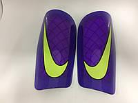 Щитки футбольные Nike фиолетовые