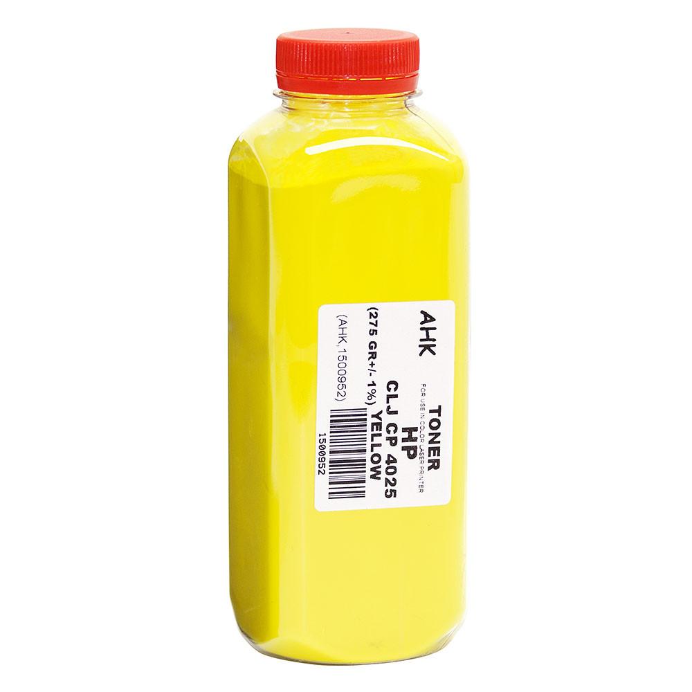 Тонер АНК для HP CLJ CP4025 бутль 275г Yellow (1500952)