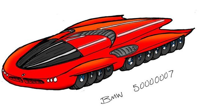 42-х колесный BMW 4219 eLi