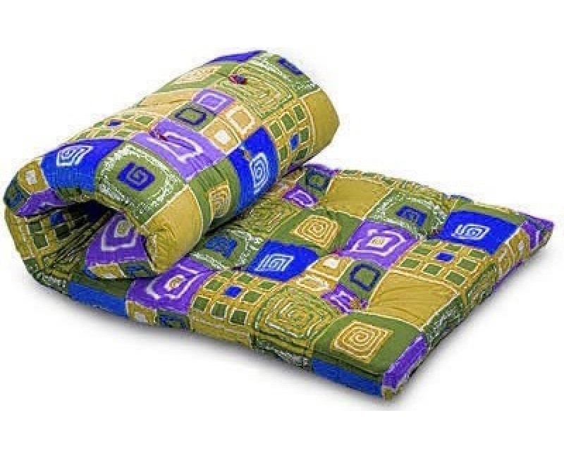 Одеяло закрытое овечья шерсть (Бязь) Двуспальное 180х210 51112