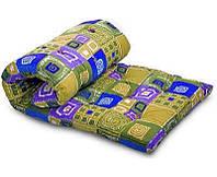 Одеяло закрытое овечья шерсть (Бязь) Двуспальное 180х210 51112, фото 1