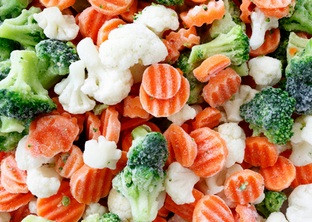 """Овощная смесь замороженная """"Царская"""" (капуста цветная, капуста брокколи, морковь рифленная), фасовка по 2.5 кг"""