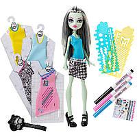 Френки Штайн Дизайнер, Monster High Designer Booo-tique Frankie Stein Doll & Fashions , фото 1