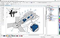 CorelDRAW Technical Suite X7 License  (Corel Corporation)