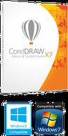 CorelDraw Home   Student Suite X7 IE Mini-Box (Corel Corporation)