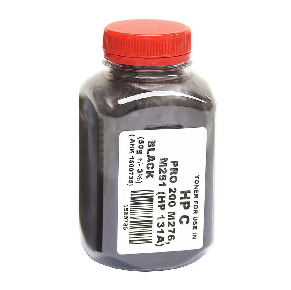 Тонер АНК для HP CLJ Pro 200/M251/M276n бутль 50г Black (1500735)