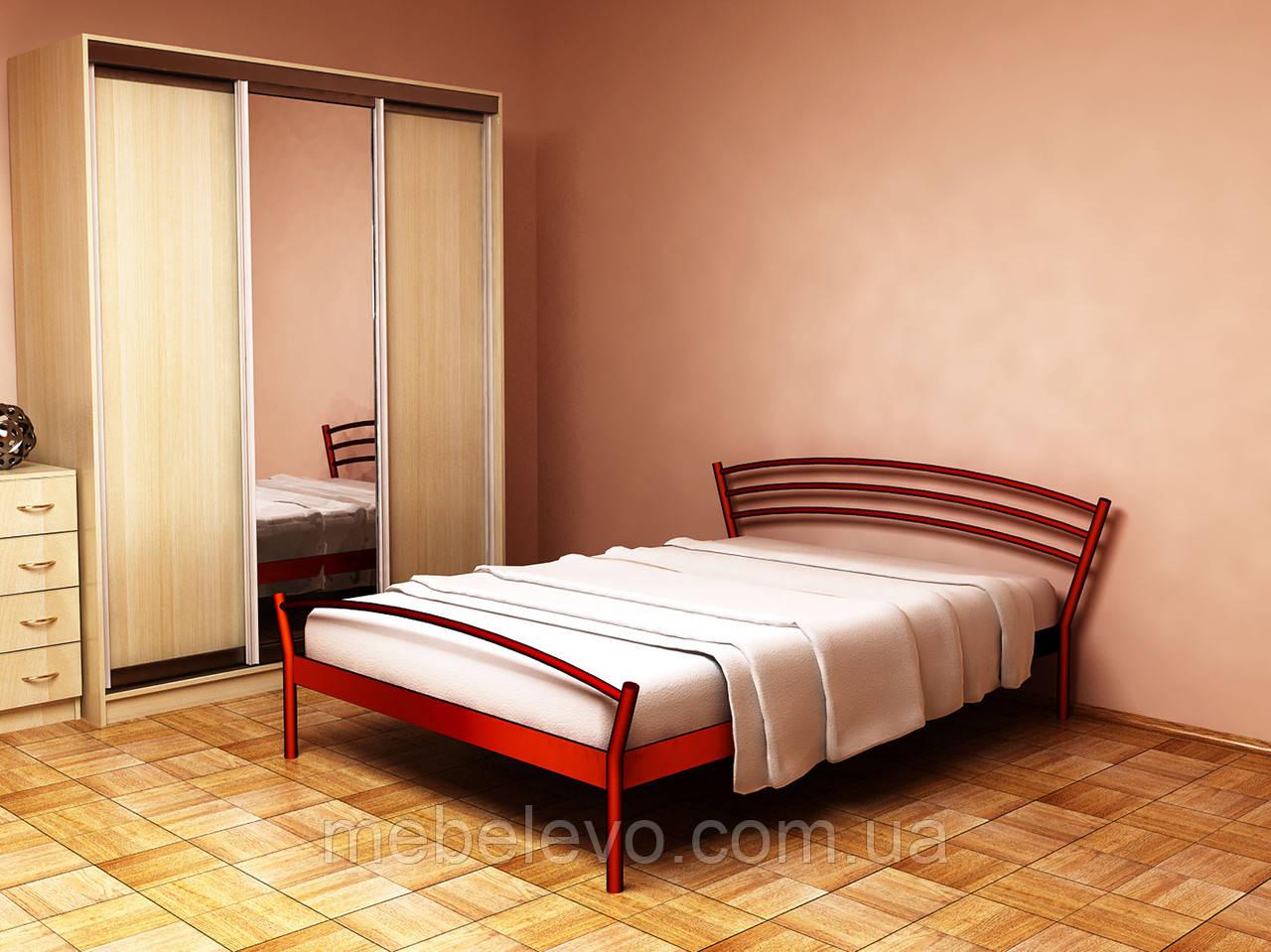 Кровать Марко 1  полуторная 140  Метакам