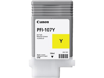 Canon PFI-107Y Yellow