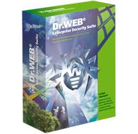 """Dr. Web: Комплект """"УНИВЕРСАЛЬНЫЙ"""" для малого бизнеса  5 ПК  + централизованное управление + 1 сервер + 5 почтовых ящиков/пользователей, на 12 месяцев"""