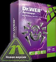 """Dr.Web® -  Антивирус (12 м, лицензия) продление (ООО """"Доктор Веб"""")"""
