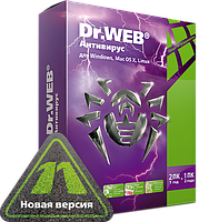 """Dr.Web® -  Антивирус (24 м, лицензия) продление (ООО """"Доктор Веб"""")"""