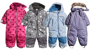 Зимние детские комбинезоны оптом