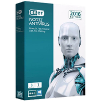 ESET NOD32 Antivirus 1 years subscription (продление) (ESET)