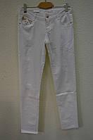 Белые женские  брюки WKO-7031