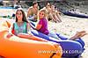 Обзор удобного надувного лежака, матраса Lamzac Hangout