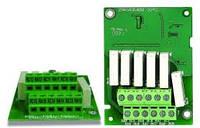 Плата расширения релейных выходов для преобразователей серий C2000, CP2000, EMC-R6AA
