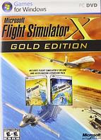 Flight Simulator  X-Gold Win32 Russian DVD Case DVD (Microsoft)