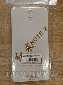 Чехол силиконовый для Xiaomi Redmi Note 2