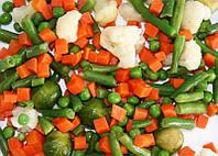 """Овощная смесь замороженная """"Весенние овощи"""" (капуста цветная, морковь, спаржа, горох)"""