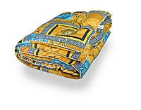 Одеяло закрытое овечья шерсть (Поликоттон) Двуспальное Евро T-51071