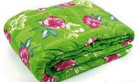 Одеяло закрытое овечья шерсть (Поликоттон) Двуспальное Евро T-51093