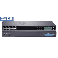 Grandstream GXW4216, 16 x RJ11 FXS ports and 1 x 50-pin Telco connector, 1 x 10M/100/1000 Mbps auto-sensing RJ45 port, G.711, G. 723, G.726